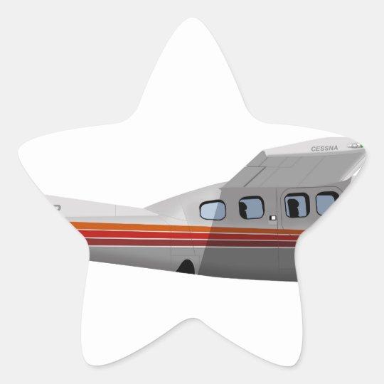 Cessna 210P Centurion 394394 Star Sticker