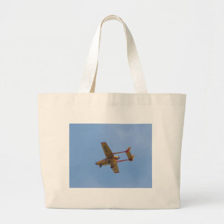 Cessna 337G Super Skymaster Large Tote Bag