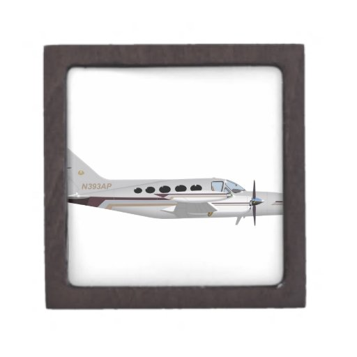 Cessna 421 Eagle de oro 393393 Caja De Recuerdo De Calidad