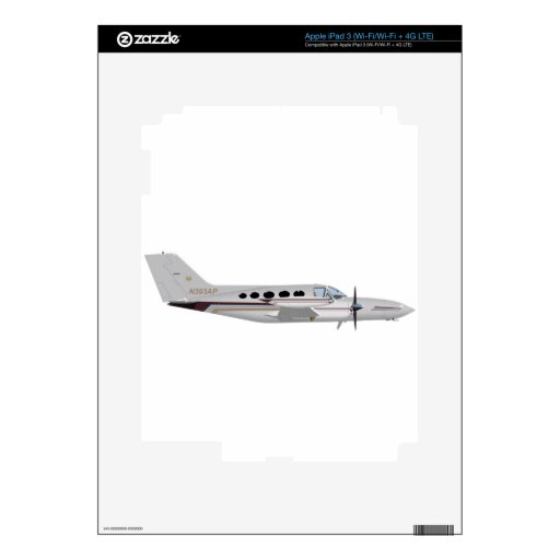 Cessna 421 Eagle de oro 393393 Pegatinas Skins Para iPad 3