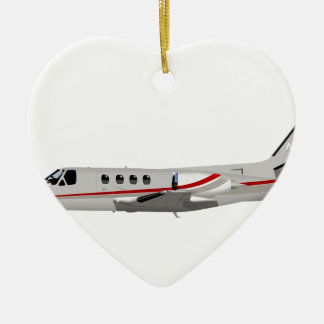 Cessna 500 Citation II 397397 Ceramic Ornament