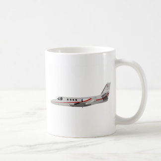 Cessna 500 Citation II 397397 Coffee Mug