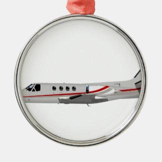 Cessna 500 Citation II 397397 Metal Ornament