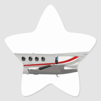 Cessna 500 Citation II 397397 Star Sticker
