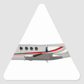 Cessna 500 Citation II 397397 Triangle Sticker