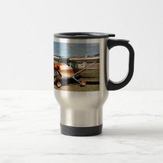 Cessna aircraft travel mug