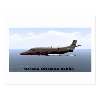 Cessna Citation 560XL Post Card