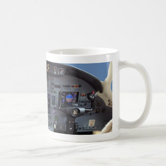 Cessna Citation Excel Cockpit Mug