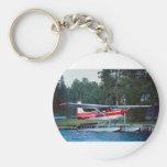 Cessna floatplane basic round button keychain