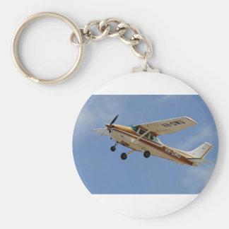 Cessna Basic Round Button Keychain