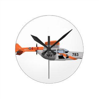 Cessna O-2A Pelican 224785 Round Wallclocks
