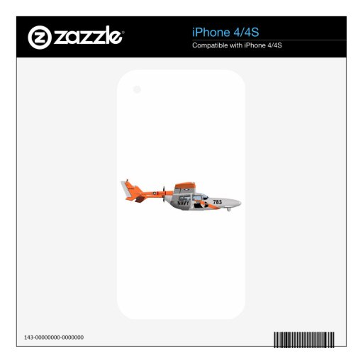 Cessna O-2A Pelican 224785 Decal For iPhone 4