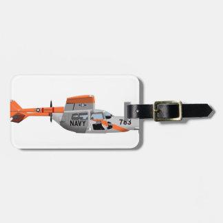 Cessna O-2A Pelican 224785 Bag Tag