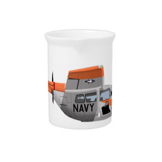 Cessna O-2A Pelican 224785 Drink Pitchers