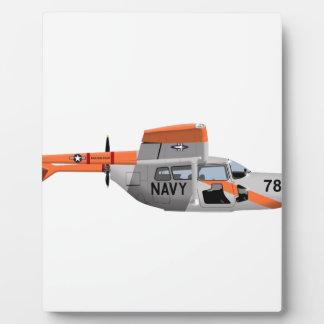 Cessna O-2A Pelican 224785 Plaques