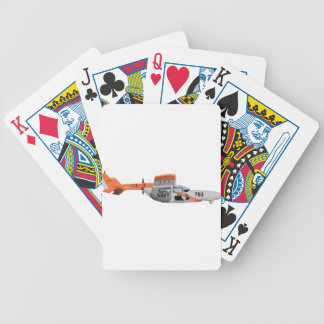 Cessna O-2A Pelican 224785 Bicycle Poker Cards