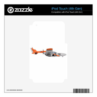Cessna O-2A Pelican 224785 Decals For iPod Touch 4G