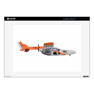"""Cessna O-2A Pelican 224785 Skin For 15"""" Laptop"""