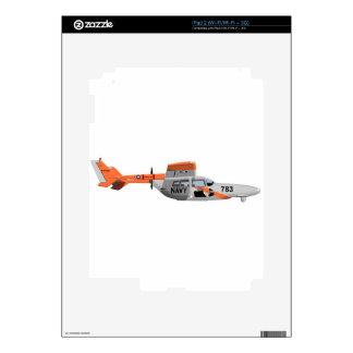 Cessna O-2A Pelican 224785 iPad 2 Skins