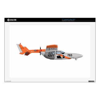 Cessna O-2A Pelican 224785 Laptop Decals