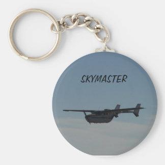 Cessna Skymaster Key Chain
