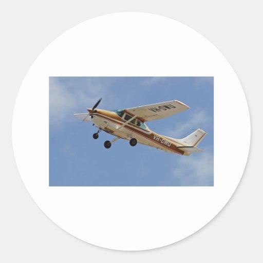 Cessna Round Sticker