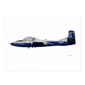 Cessna T-37 Dragonfly 68902 Postcard