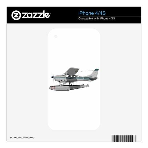 Cessna U-295 Stationair II Decal For iPhone 4