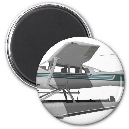 Cessna U-295 Stationair II Imán Redondo 5 Cm