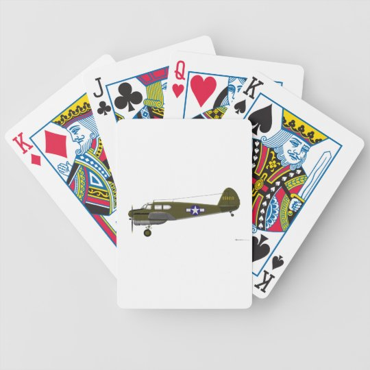 Cessna UC-78 Bobcat Bicycle Playing Cards