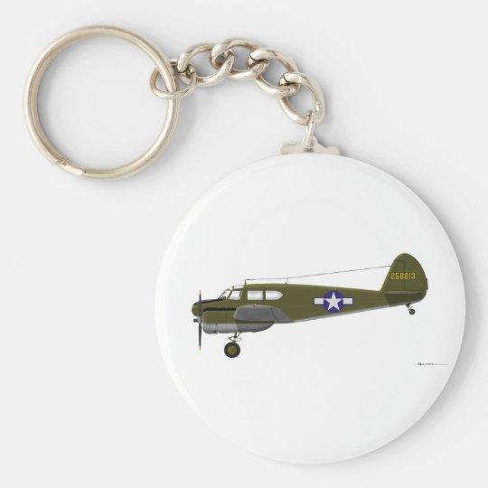 Cessna UC-78 Bobcat Keychain