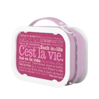 C'est La Vie lunch boxes
