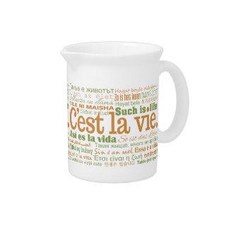 C'est La Vie pitcher