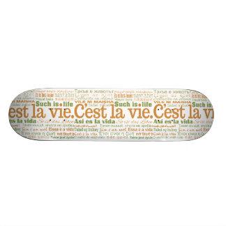 C'est La Vie skateboards