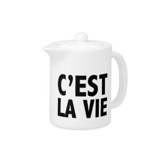 C'est La Vie Teapot