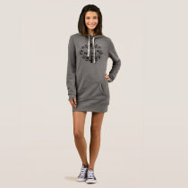 C'est La Vie (That's Life) - Hoodie Dress