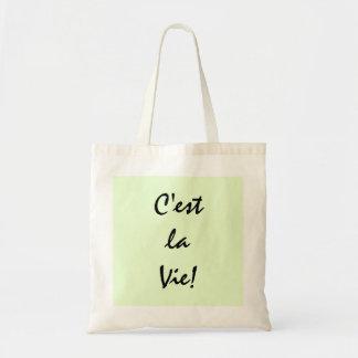 C'est La Vie! Tote Bag