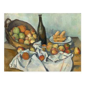 Cesta de bella arte de Paul Cézanne de las Tarjetas Postales