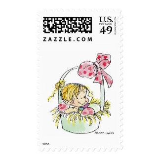 Cesta de EAS-003 Pascua Timbre Postal