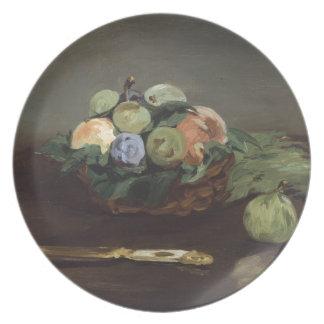 Cesta de fruta de Eduardo Manet Platos De Comidas