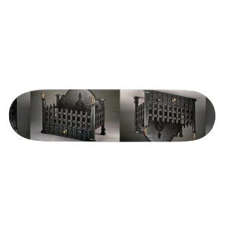 Cesta de fuego del arrabio diseño de los portcull patin personalizado