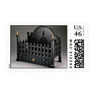 Cesta de fuego del arrabio diseño de los portcull sello