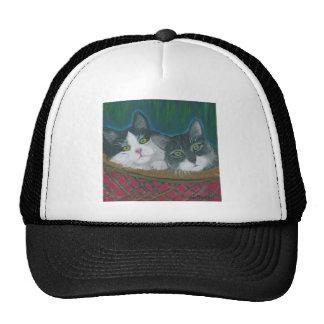Cesta de gatitos gorra