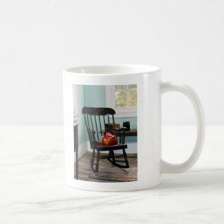 Cesta de hilado en mecedora taza clásica