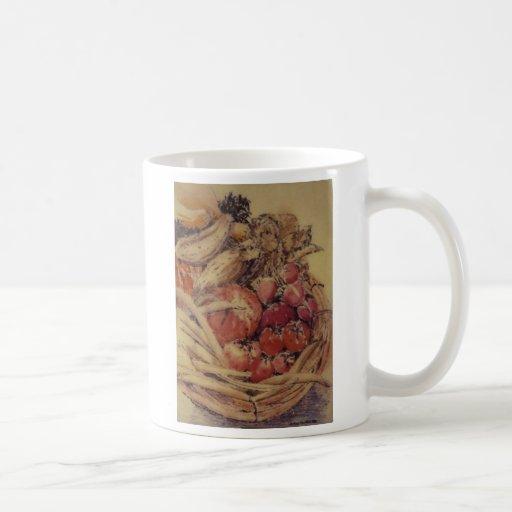 Cesta de la compra taza clásica