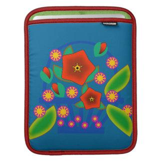 Cesta de las flores funda para iPads