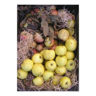 Cesta de manzanas anuncio personalizado