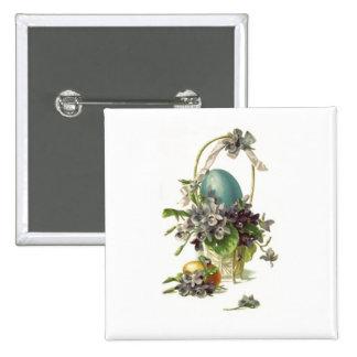 Cesta de Pascua del vintage Pins