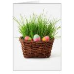 Cesta de Pascua Felicitación