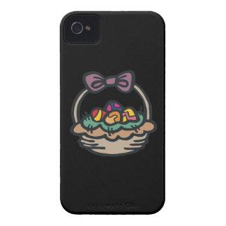 Cesta de Pascua iPhone 4 Carcasa
